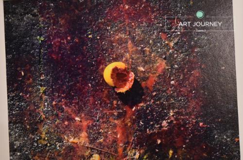 Terra opera di Angelo Azalone Cantiere del Contemporaneo Art Journey