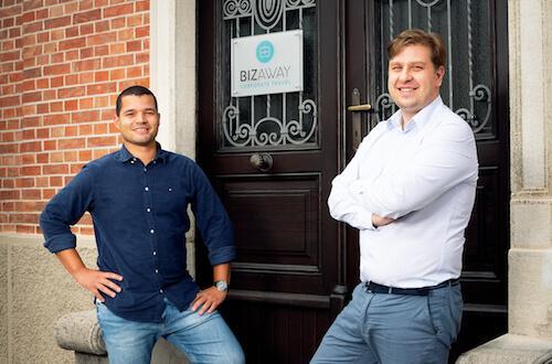 Flavio Del Bianco e Luca Carlucci founders di BizAway