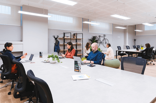 smart working in coworking copernico milano