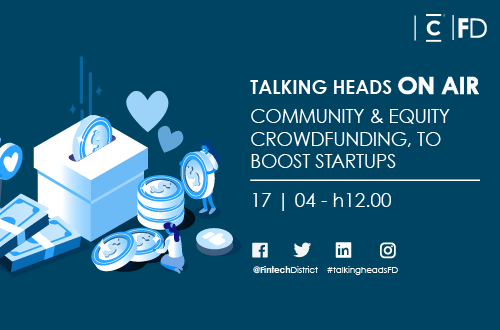 Talking Heads On Air |Community & Equity Crowdfunding to boost Startups