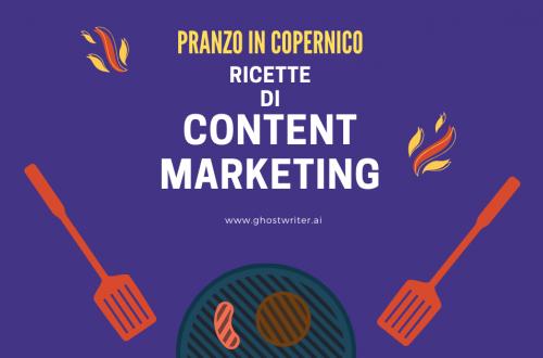 Copernico Torino Garibaldi - Ricette di Content Marketing
