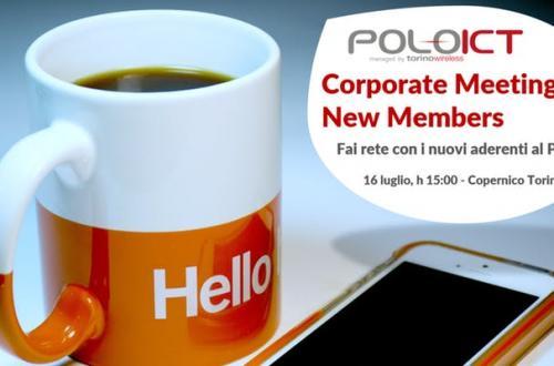 Copernico Torino Garibaldi - Corporate Meeting New Members