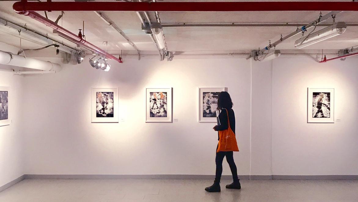 """L'esposizione """"Sidewalk Gallery"""" di Gallotta e Russo"""