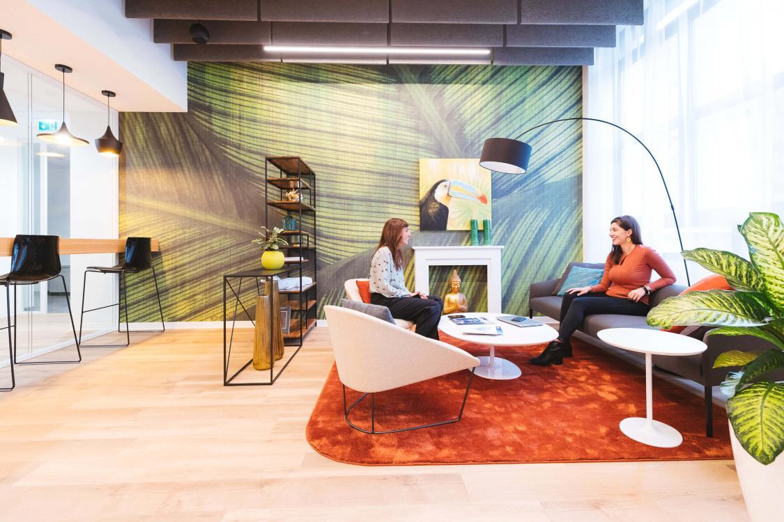 zuretti lounge persone smart working parlare