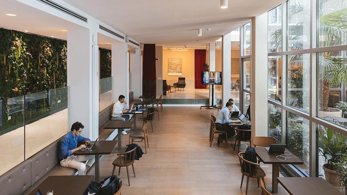 spazio di lavoro sicuro copernico clubhouse brera