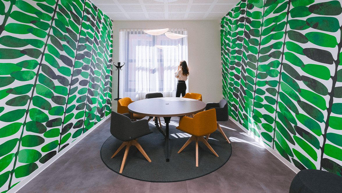 privacy in coworking milano