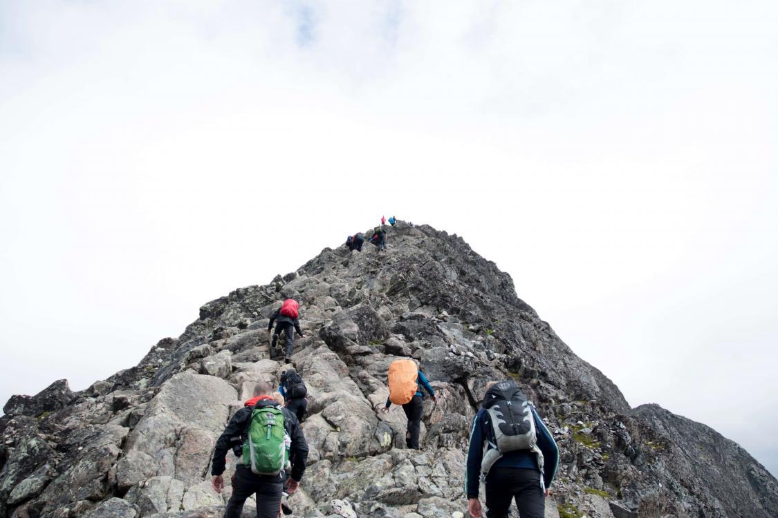 gruppo scalata
