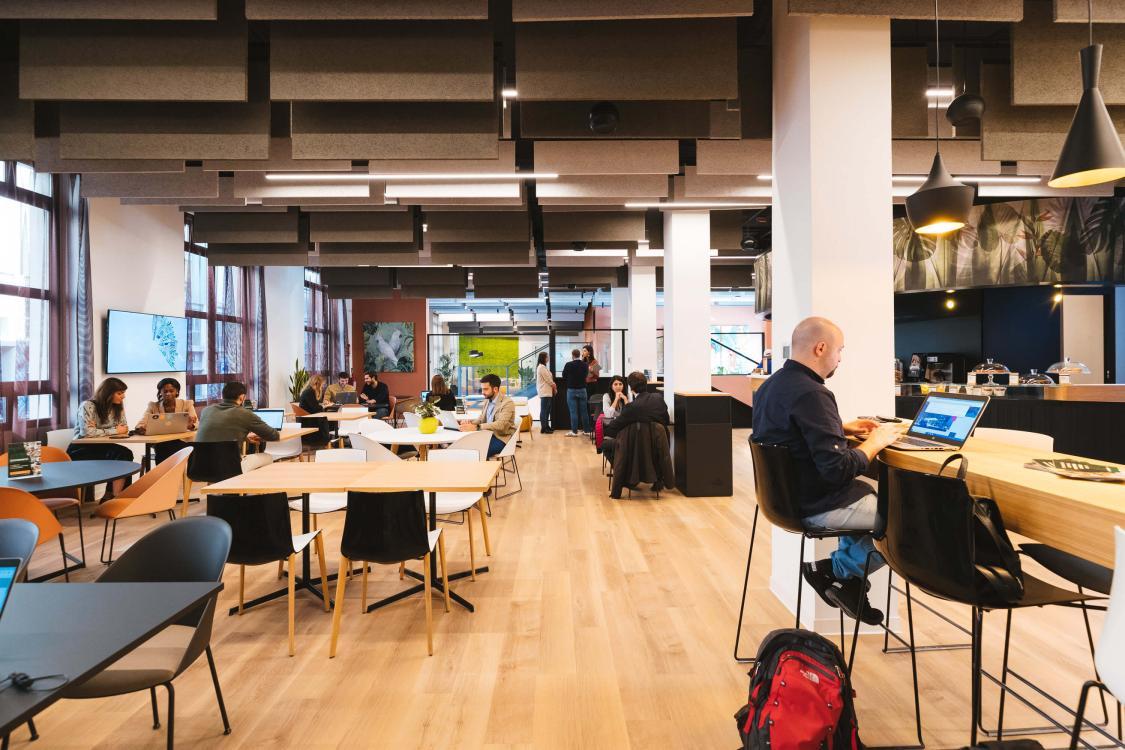 copernico zuretti lounge smart working