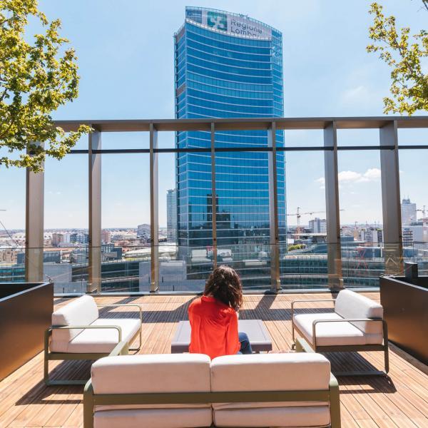 rooftop copernico isola for s32 smart working