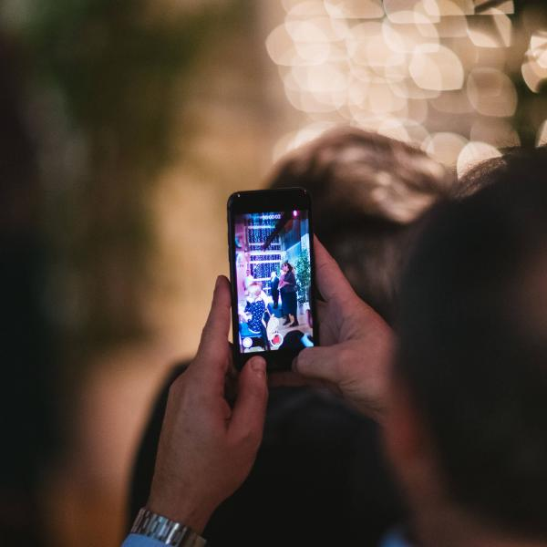 social media foto evento